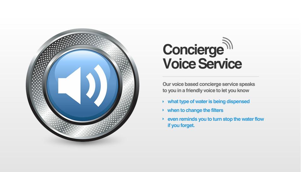 Concierge Voice Serive